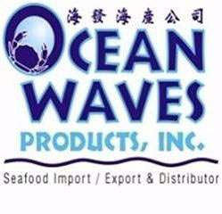 Ocean Waves Products logo and testimonial