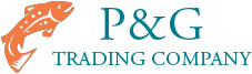 P & G Trading Company logo and testimonial