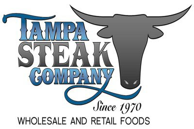 tampa steak logo and testimonial